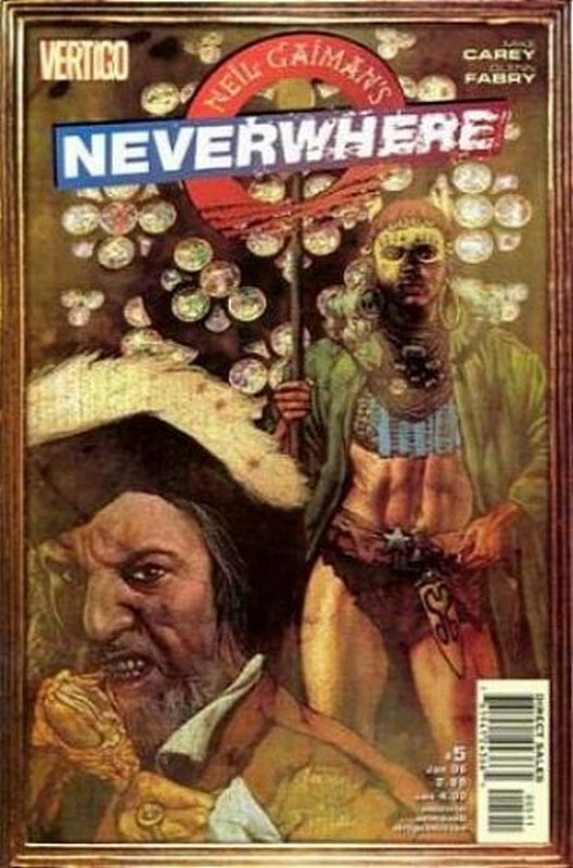 Cover of Neil Gaimans Neverwhere (2005 Ltd) #5. One of 250,000 Vintage American Comics on sale from Krypton!