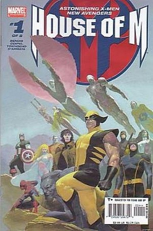 Cover of House of M (2005 Ltd) #1. One of 250,000 Vintage American Comics on sale from Krypton!