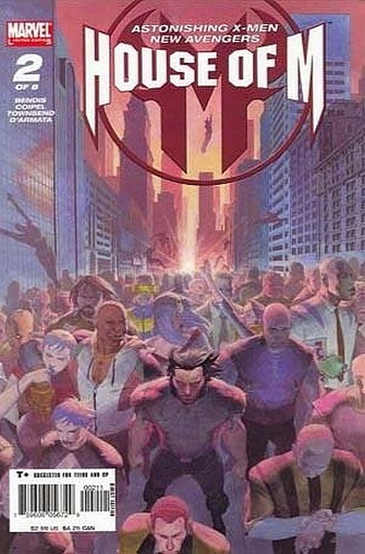 Cover of House of M (2005 Ltd) #2. One of 250,000 Vintage American Comics on sale from Krypton!
