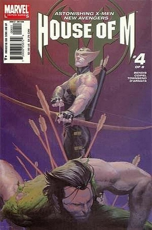 Cover of House of M (2005 Ltd) #4. One of 250,000 Vintage American Comics on sale from Krypton!