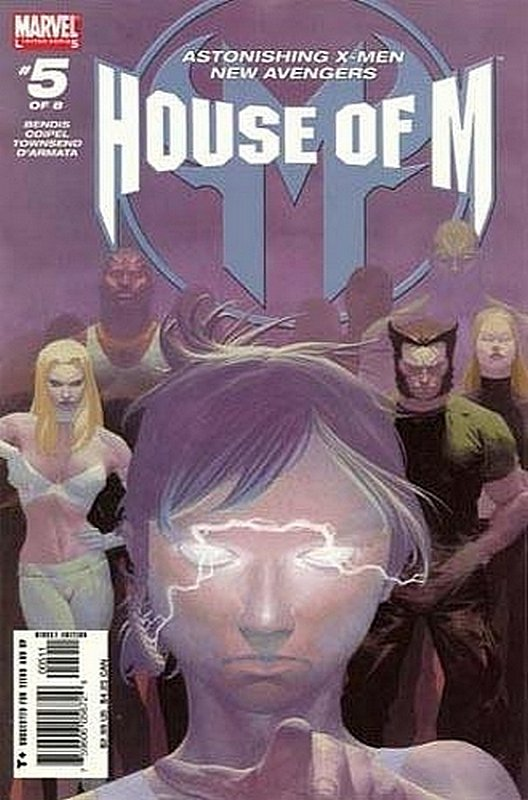 Cover of House of M (2005 Ltd) #5. One of 250,000 Vintage American Comics on sale from Krypton!