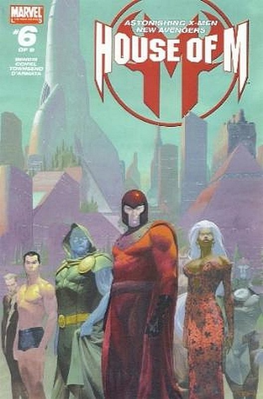 Cover of House of M (2005 Ltd) #6. One of 250,000 Vintage American Comics on sale from Krypton!