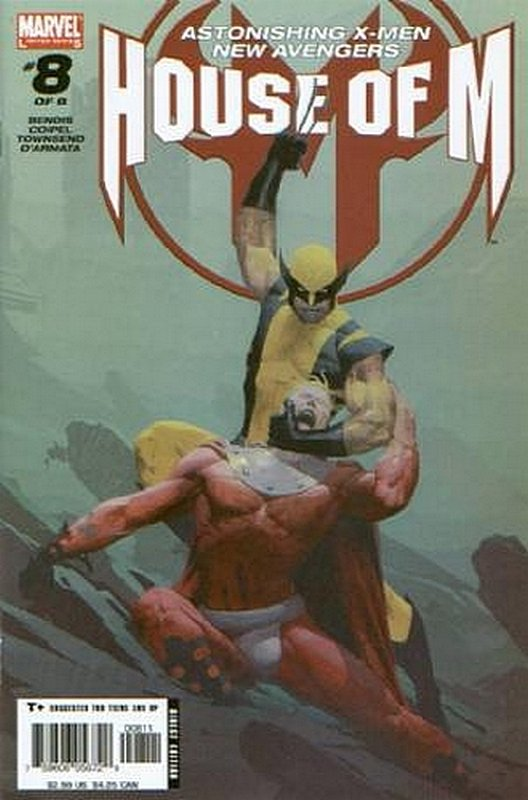 Cover of House of M (2005 Ltd) #8. One of 250,000 Vintage American Comics on sale from Krypton!