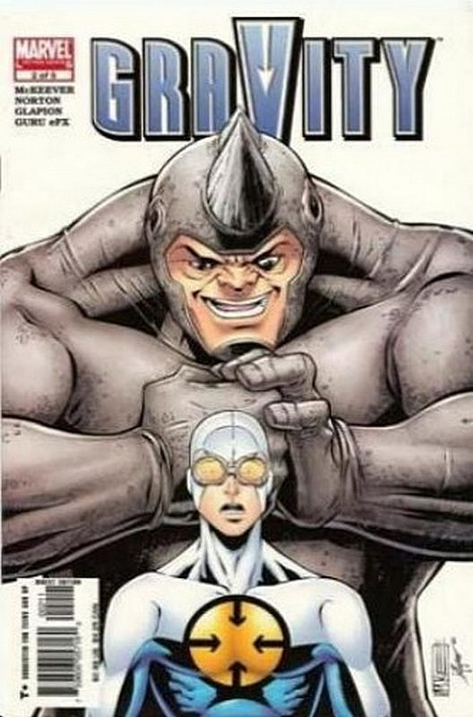 Cover of Gravity (2005 Ltd) #2. One of 250,000 Vintage American Comics on sale from Krypton!