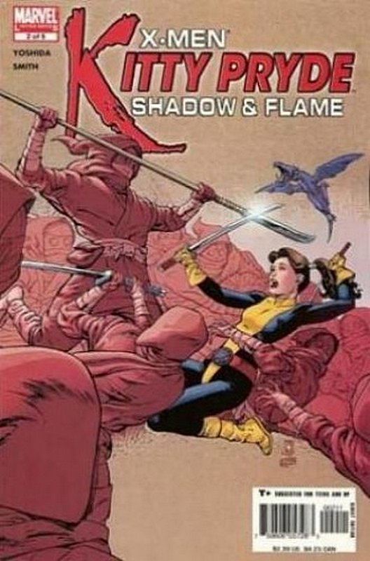 Cover of X-Men: Kitty Pryde - Shadow & Flame (2005 Ltd) #2. One of 250,000 Vintage American Comics on sale from Krypton!