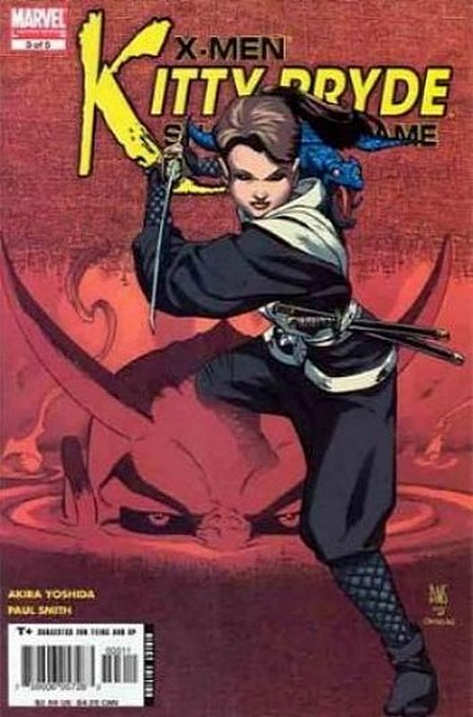 Cover of X-Men: Kitty Pryde - Shadow & Flame (2005 Ltd) #3. One of 250,000 Vintage American Comics on sale from Krypton!
