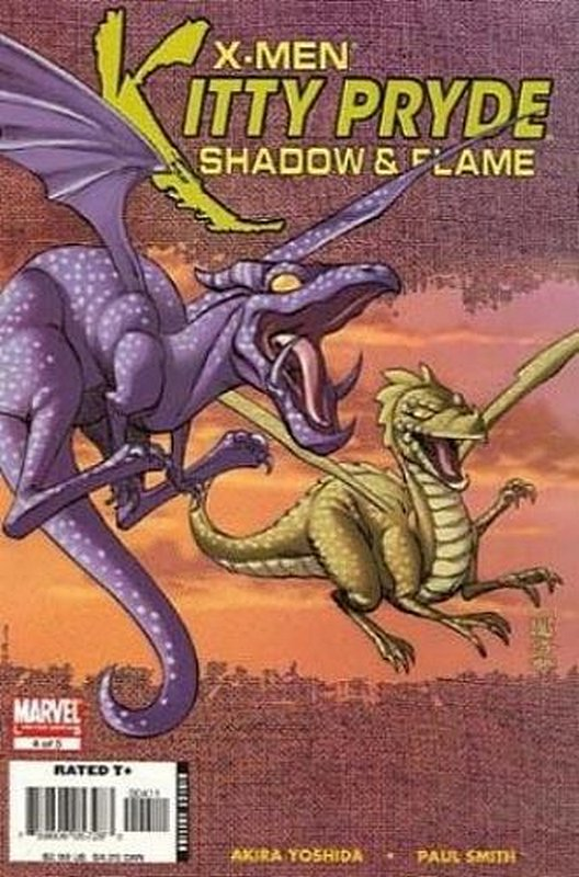 Cover of X-Men: Kitty Pryde - Shadow & Flame (2005 Ltd) #4. One of 250,000 Vintage American Comics on sale from Krypton!