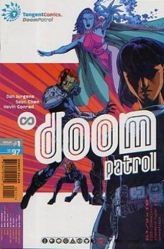 Cover of Tangent Comics: Doom Patrol (1997 One Shot) #1. One of 250,000 Vintage American Comics on sale from Krypton!