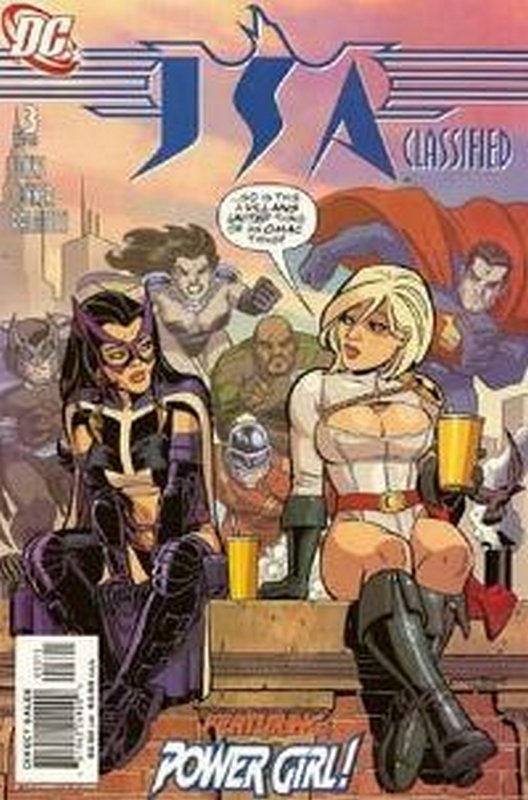Cover of JSA Classified (Vol 1) #3. One of 250,000 Vintage American Comics on sale from Krypton!