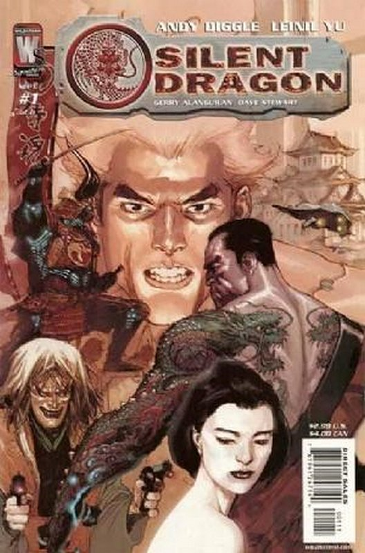 Cover of Silent Dragon (2005 Ltd) #1. One of 250,000 Vintage American Comics on sale from Krypton!
