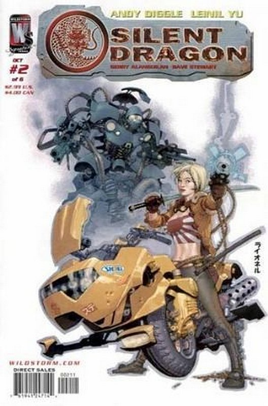 Cover of Silent Dragon (2005 Ltd) #2. One of 250,000 Vintage American Comics on sale from Krypton!