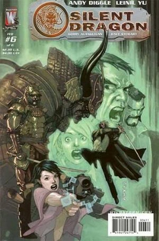Cover of Silent Dragon (2005 Ltd) #6. One of 250,000 Vintage American Comics on sale from Krypton!