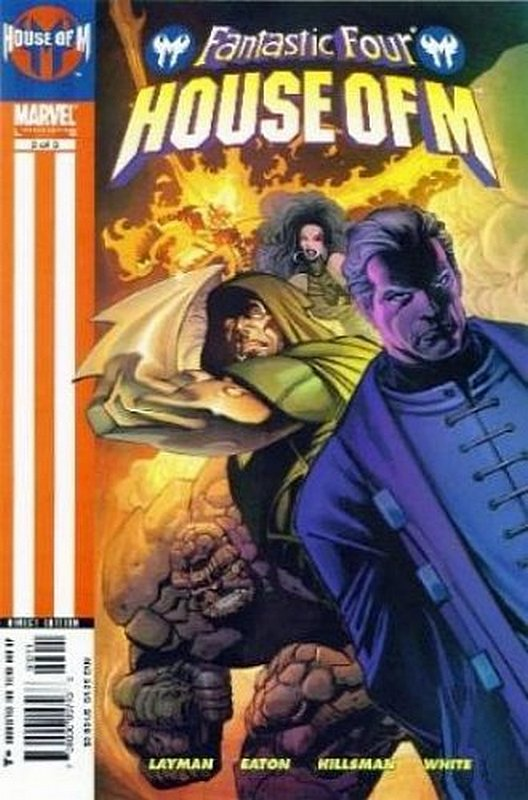 Cover of Fantastic Four: House of M (2005 Ltd) #3. One of 250,000 Vintage American Comics on sale from Krypton!