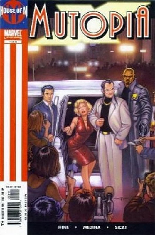 Cover of Mutopia X (2005 Ltd) #1. One of 250,000 Vintage American Comics on sale from Krypton!