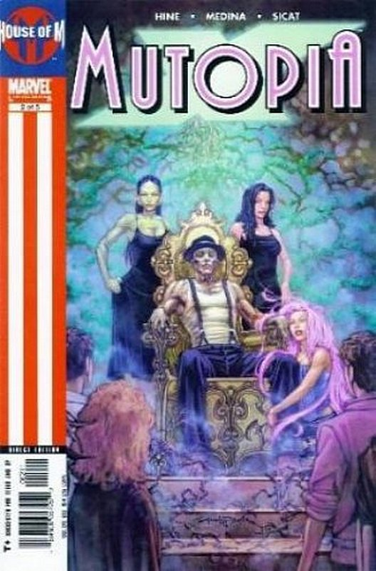 Cover of Mutopia X (2005 Ltd) #2. One of 250,000 Vintage American Comics on sale from Krypton!