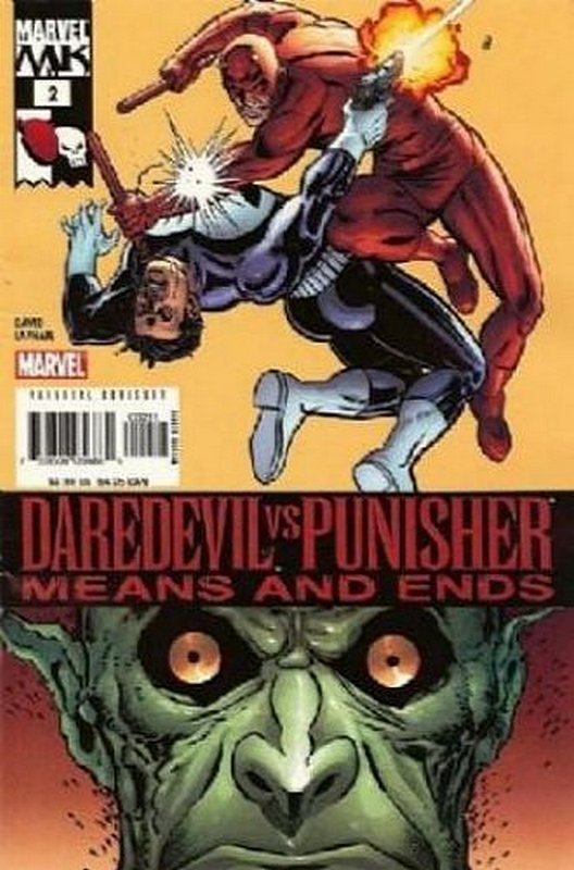 Cover of Daredevil vs Punisher (2005 Ltd) #2. One of 250,000 Vintage American Comics on sale from Krypton!