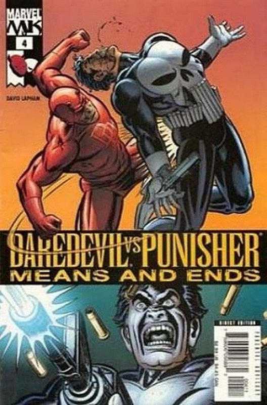Cover of Daredevil vs Punisher (2005 Ltd) #4. One of 250,000 Vintage American Comics on sale from Krypton!