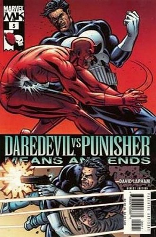 Cover of Daredevil vs Punisher (2005 Ltd) #5. One of 250,000 Vintage American Comics on sale from Krypton!