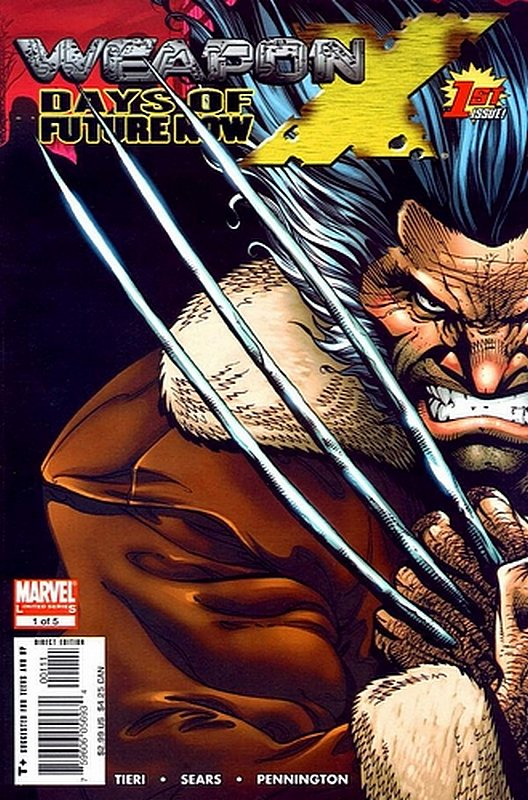 Cover of Weapon X: Days of Future Now (2005 Ltd) #1. One of 250,000 Vintage American Comics on sale from Krypton!