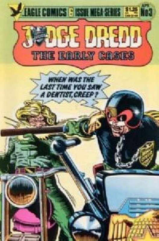 Cover of Judge Dredd: The Early Cases (1985 Ltd) #3. One of 250,000 Vintage American Comics on sale from Krypton!