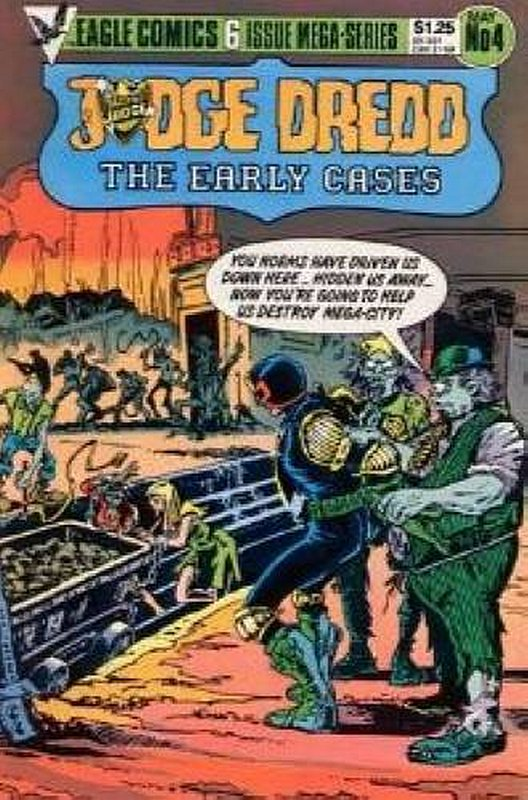 Cover of Judge Dredd: The Early Cases (1985 Ltd) #4. One of 250,000 Vintage American Comics on sale from Krypton!