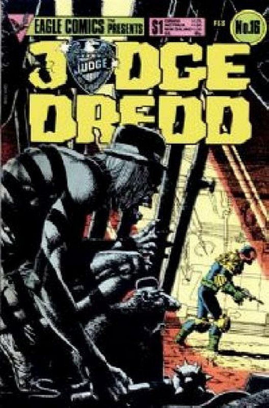 Cover of Judge Dredd (Eagle) (Vol 1) #16. One of 250,000 Vintage American Comics on sale from Krypton!