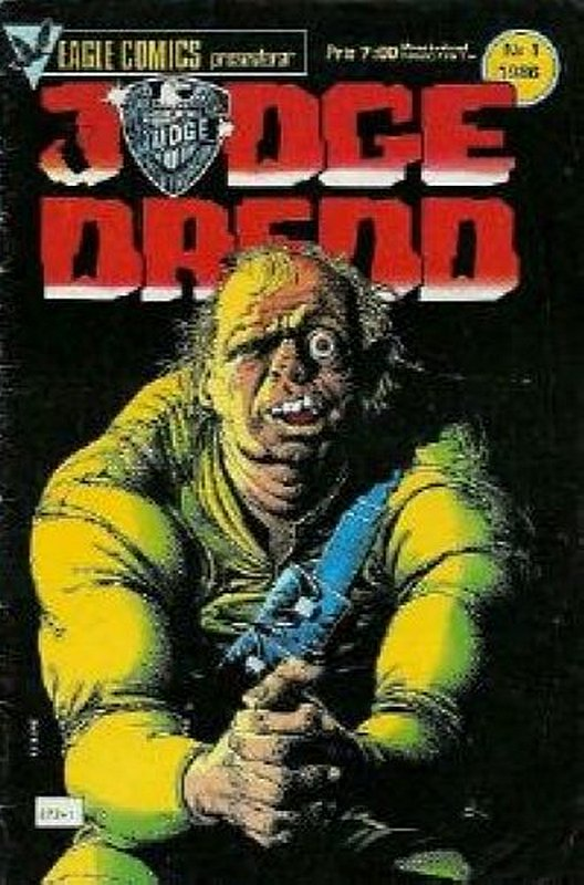 Cover of Judge Dredd (Eagle) (Vol 1) #17. One of 250,000 Vintage American Comics on sale from Krypton!