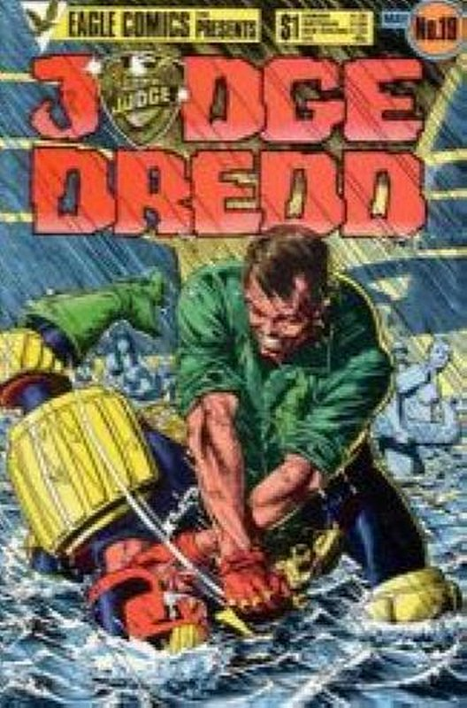 Cover of Judge Dredd (Eagle) (Vol 1) #19. One of 250,000 Vintage American Comics on sale from Krypton!
