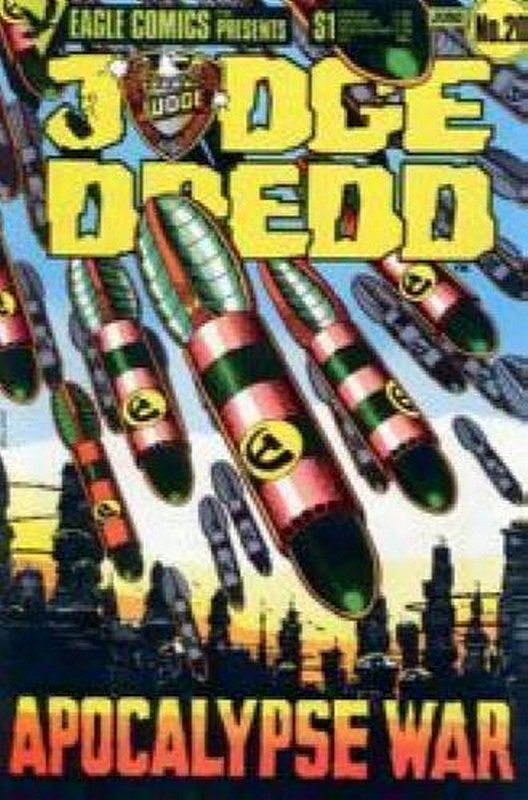 Cover of Judge Dredd (Eagle) (Vol 1) #20. One of 250,000 Vintage American Comics on sale from Krypton!