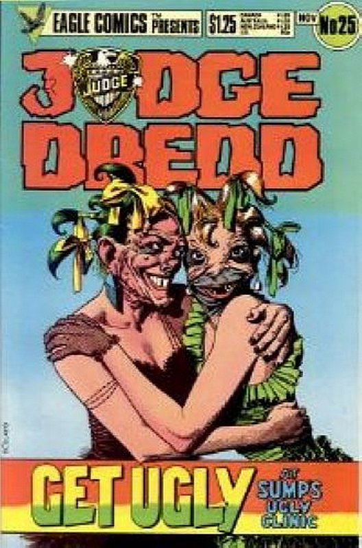 Cover of Judge Dredd (Eagle) (Vol 1) #25. One of 250,000 Vintage American Comics on sale from Krypton!