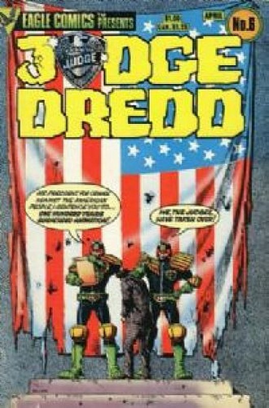Cover of Judge Dredd (Eagle) (Vol 1) #6. One of 250,000 Vintage American Comics on sale from Krypton!