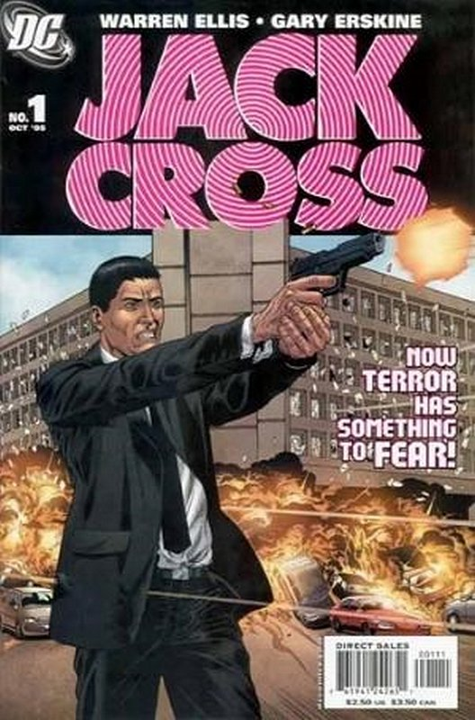 Cover of Jack Cross (2005 Ltd) #1. One of 250,000 Vintage American Comics on sale from Krypton!