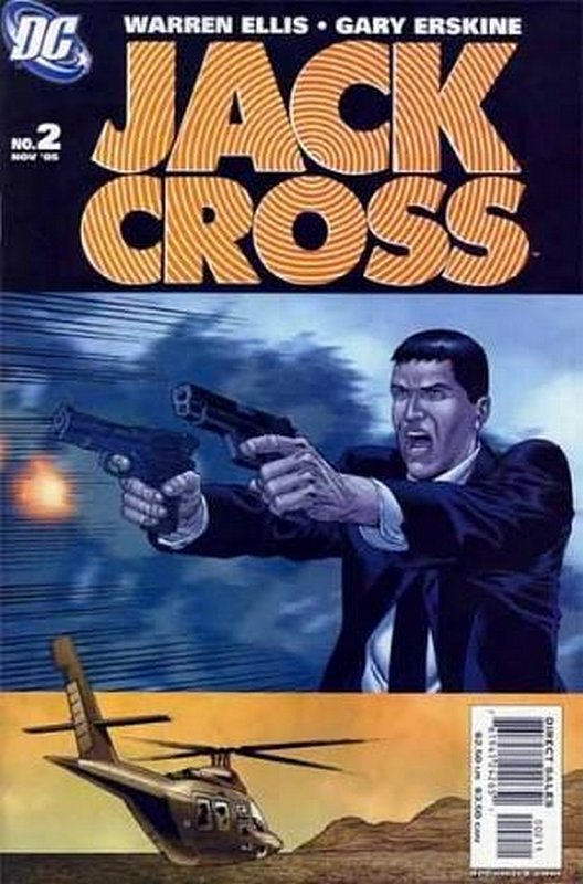 Cover of Jack Cross (2005 Ltd) #2. One of 250,000 Vintage American Comics on sale from Krypton!