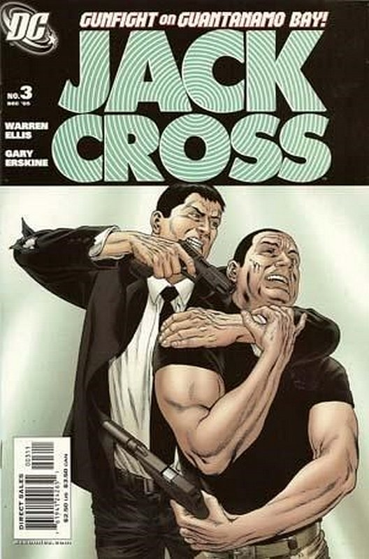 Cover of Jack Cross (2005 Ltd) #3. One of 250,000 Vintage American Comics on sale from Krypton!