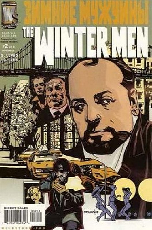 Cover of Winter Men (2005 Ltd) The #2. One of 250,000 Vintage American Comics on sale from Krypton!