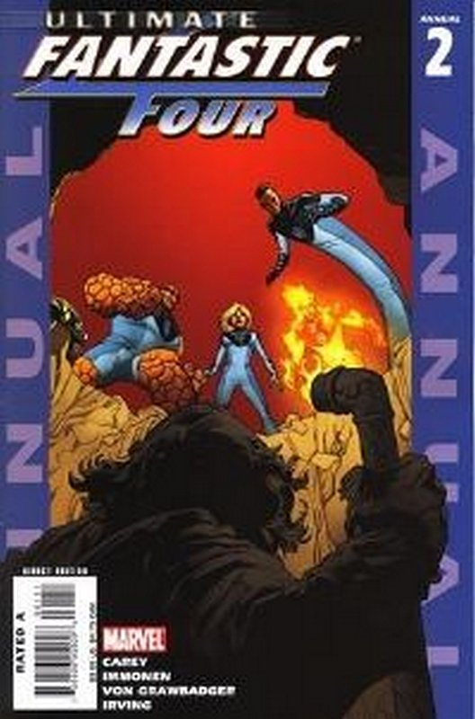 Cover of Ultimate Fantastic Four Annual #2. One of 250,000 Vintage American Comics on sale from Krypton!