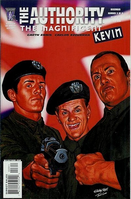 Cover of Authority: The Magnificent Kevin #3. One of 250,000 Vintage American Comics on sale from Krypton!
