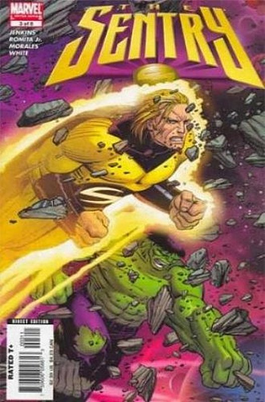 Cover of Sentry (2005 Ltd) #3. One of 250,000 Vintage American Comics on sale from Krypton!