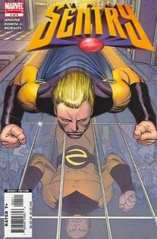 Cover of Sentry (2005 Ltd) #4. One of 250,000 Vintage American Comics on sale from Krypton!
