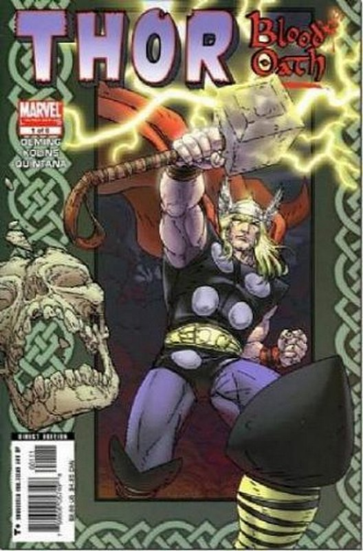Cover of Thor: Blood Oath (2005 Ltd) #1. One of 250,000 Vintage American Comics on sale from Krypton!