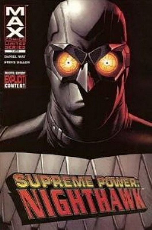 Cover of Supreme Power: Nighthawk (2005 Ltd) #1. One of 250,000 Vintage American Comics on sale from Krypton!