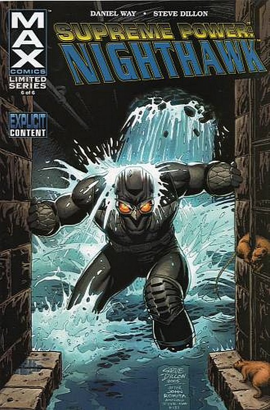 Cover of Supreme Power: Nighthawk (2005 Ltd) #6. One of 250,000 Vintage American Comics on sale from Krypton!
