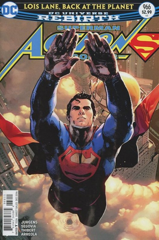 Cover of Action Comics (Vol 3) #966. One of 250,000 Vintage American Comics on sale from Krypton!