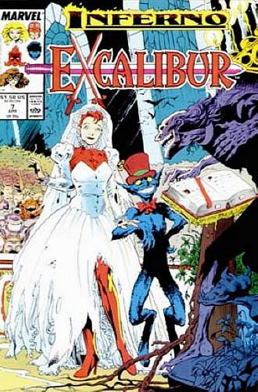 Cover of Excalibur (Vol 1) #7. One of 250,000 Vintage American Comics on sale from Krypton!
