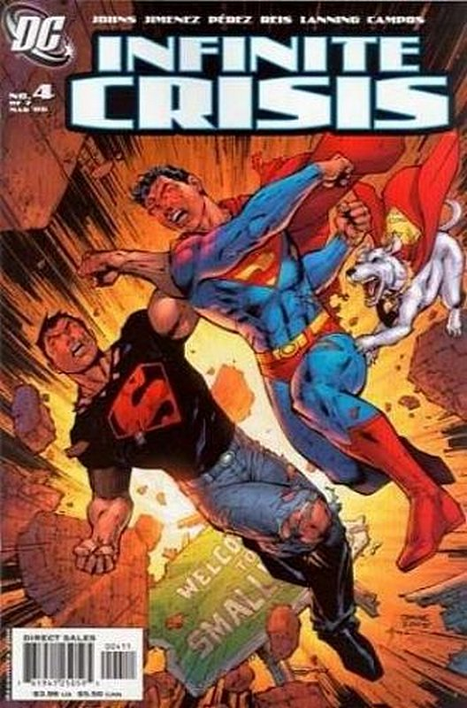Cover of Infinite Crisis (2005 Ltd) #4. One of 250,000 Vintage American Comics on sale from Krypton!
