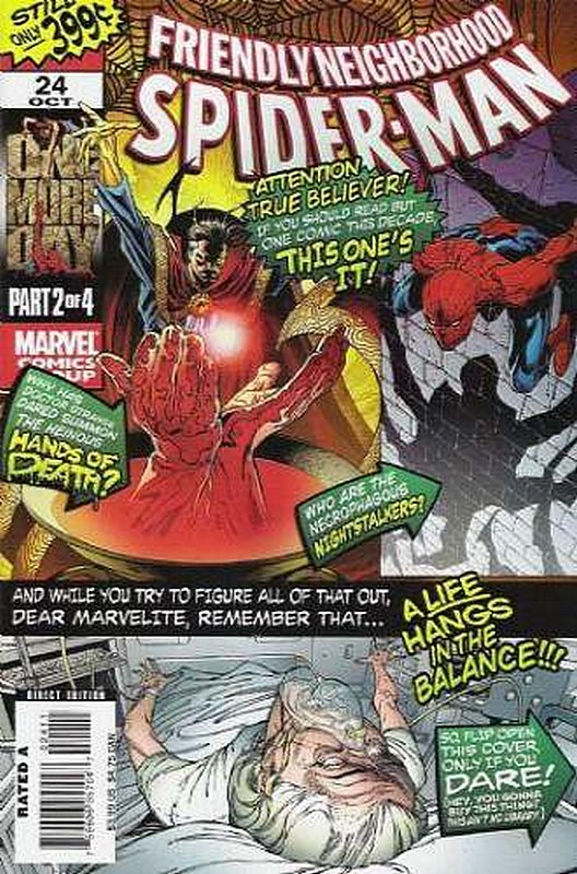 Cover of Friendly Neighborhood Spider-Man (Vol 1) #24. One of 250,000 Vintage American Comics on sale from Krypton!