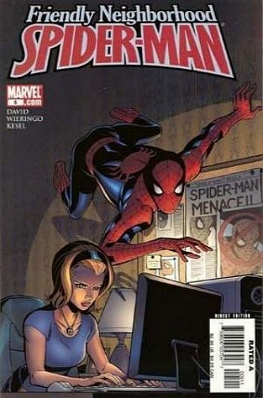 Cover of Friendly Neighborhood Spider-Man (Vol 1) #5. One of 250,000 Vintage American Comics on sale from Krypton!