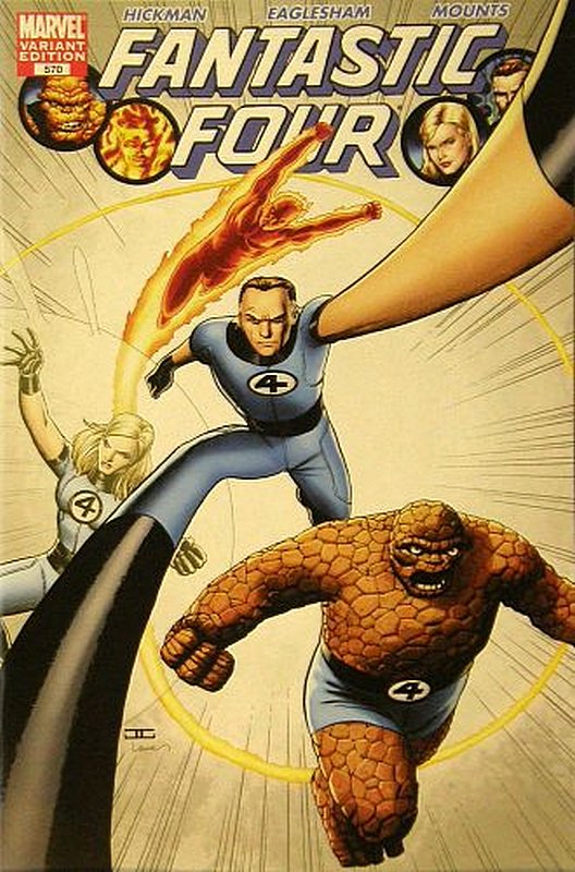 Cover of Fantastic Four (Vol 3) #570. One of 250,000 Vintage American Comics on sale from Krypton!