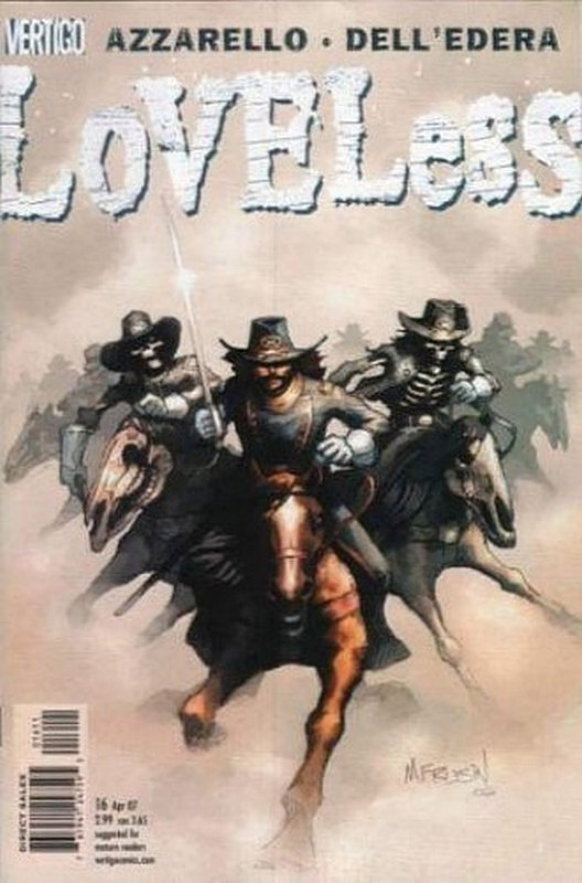 Cover of Loveless (Vol 1) #16. One of 250,000 Vintage American Comics on sale from Krypton!