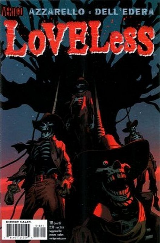 Cover of Loveless (Vol 1) #18. One of 250,000 Vintage American Comics on sale from Krypton!